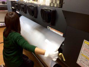インクジェット出力の印刷工程3