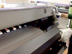 インクジェット出力の印刷工程1